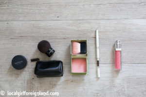 Travel makeup: 5 products only