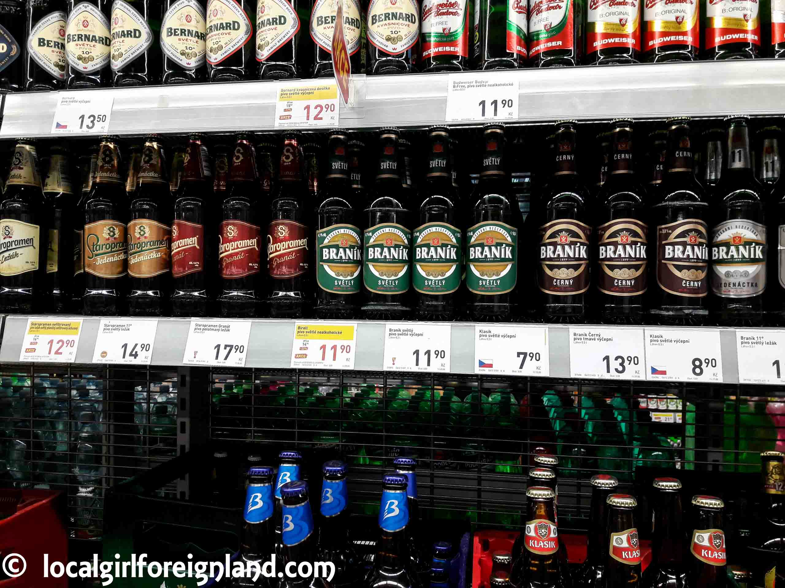 Prague-beer-price-supermarket