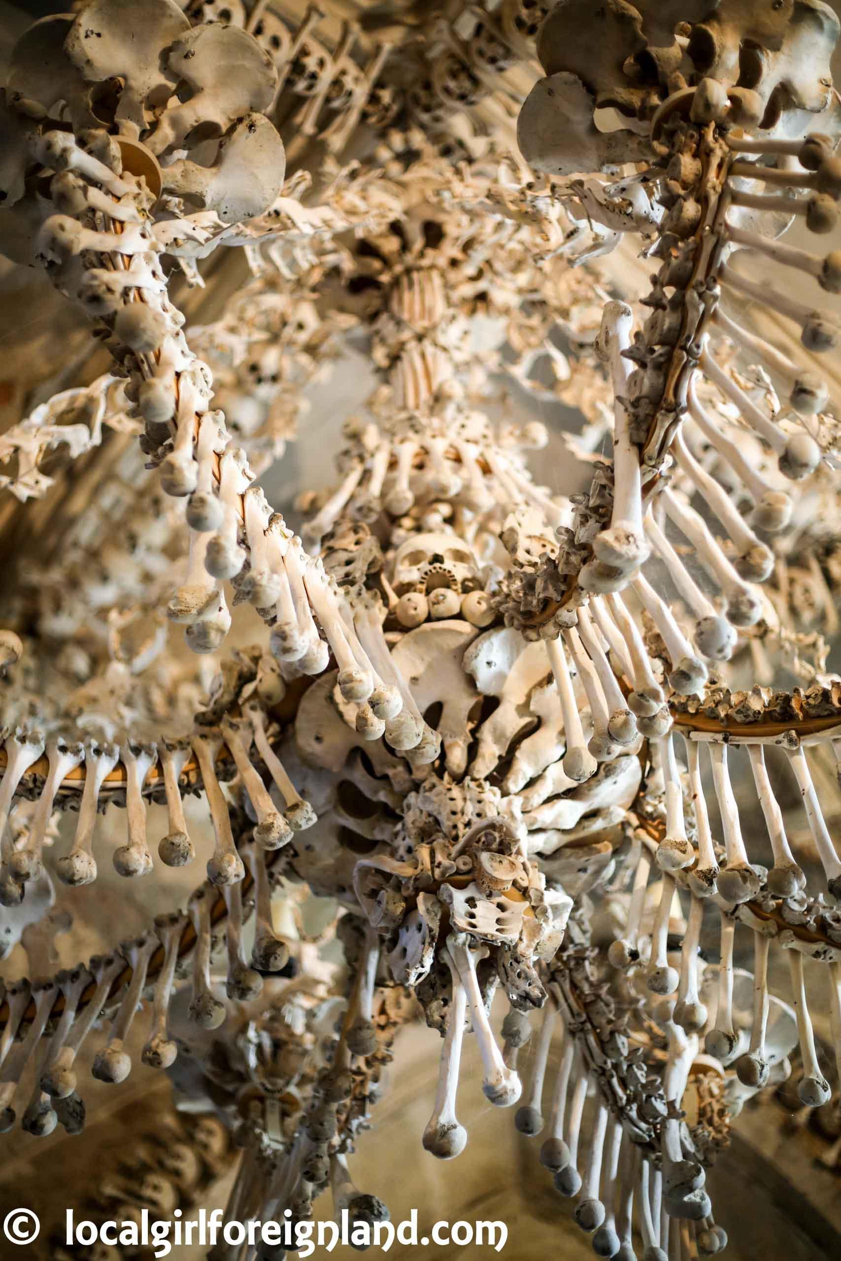 Sedlec Ossuary (Bone Chapel), chandelier