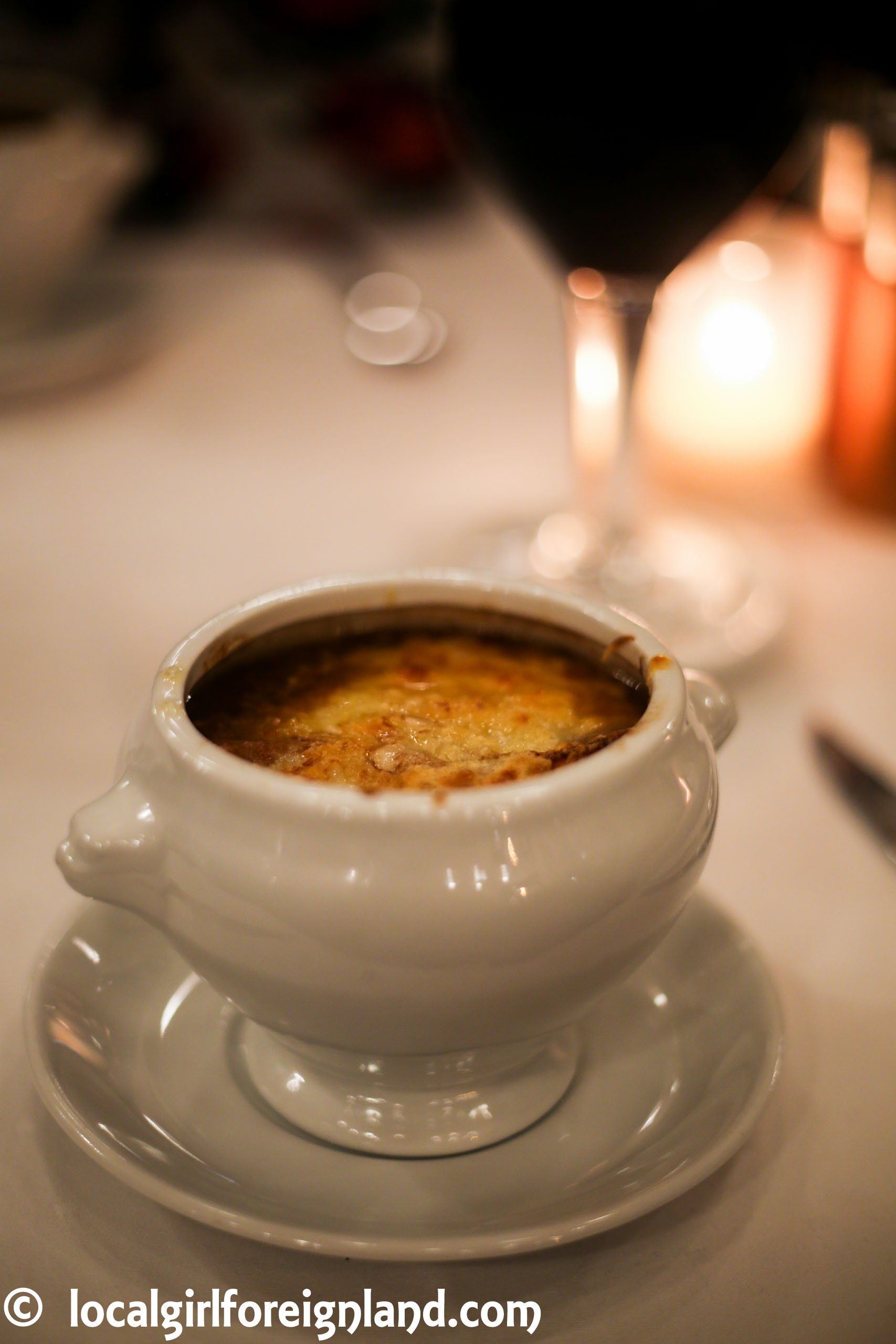 French onion soup - dish by Imperial Cafe, Prague