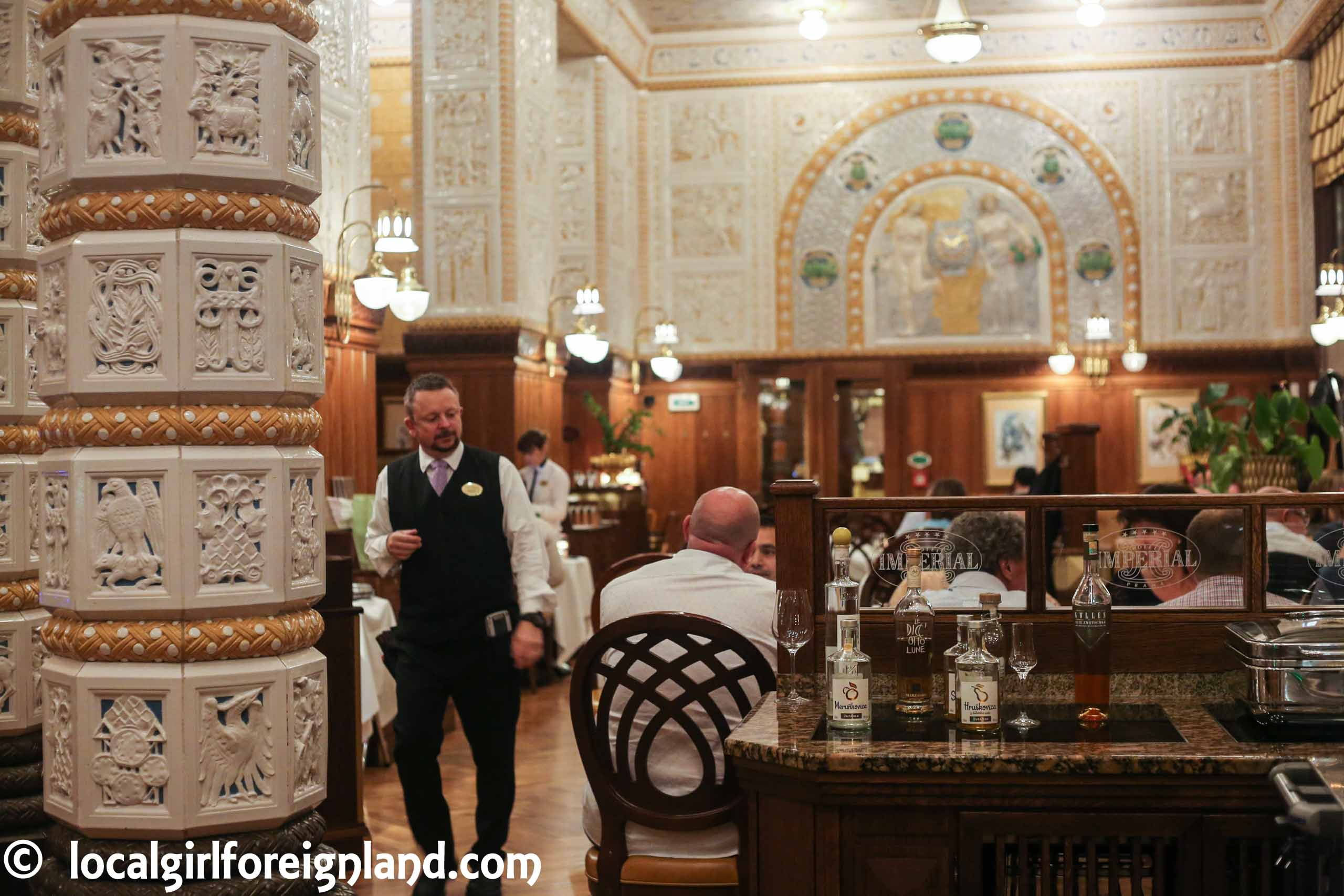 Restaurant review: Imperial Café, Prague