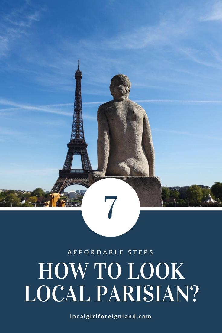 How to look local Parisian?