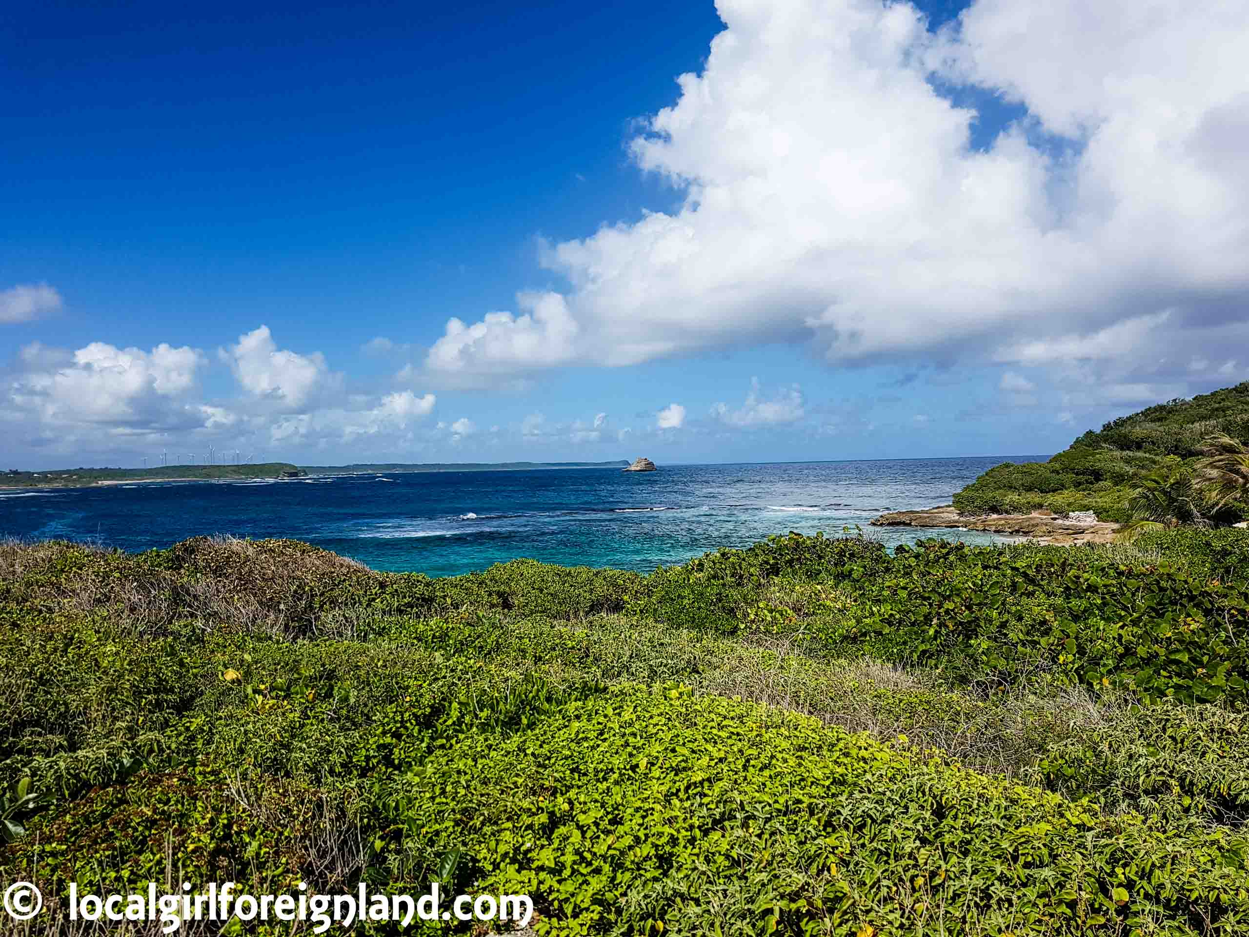 Anse Tarare, Pointe des Chateaux hike, Guadeloupe