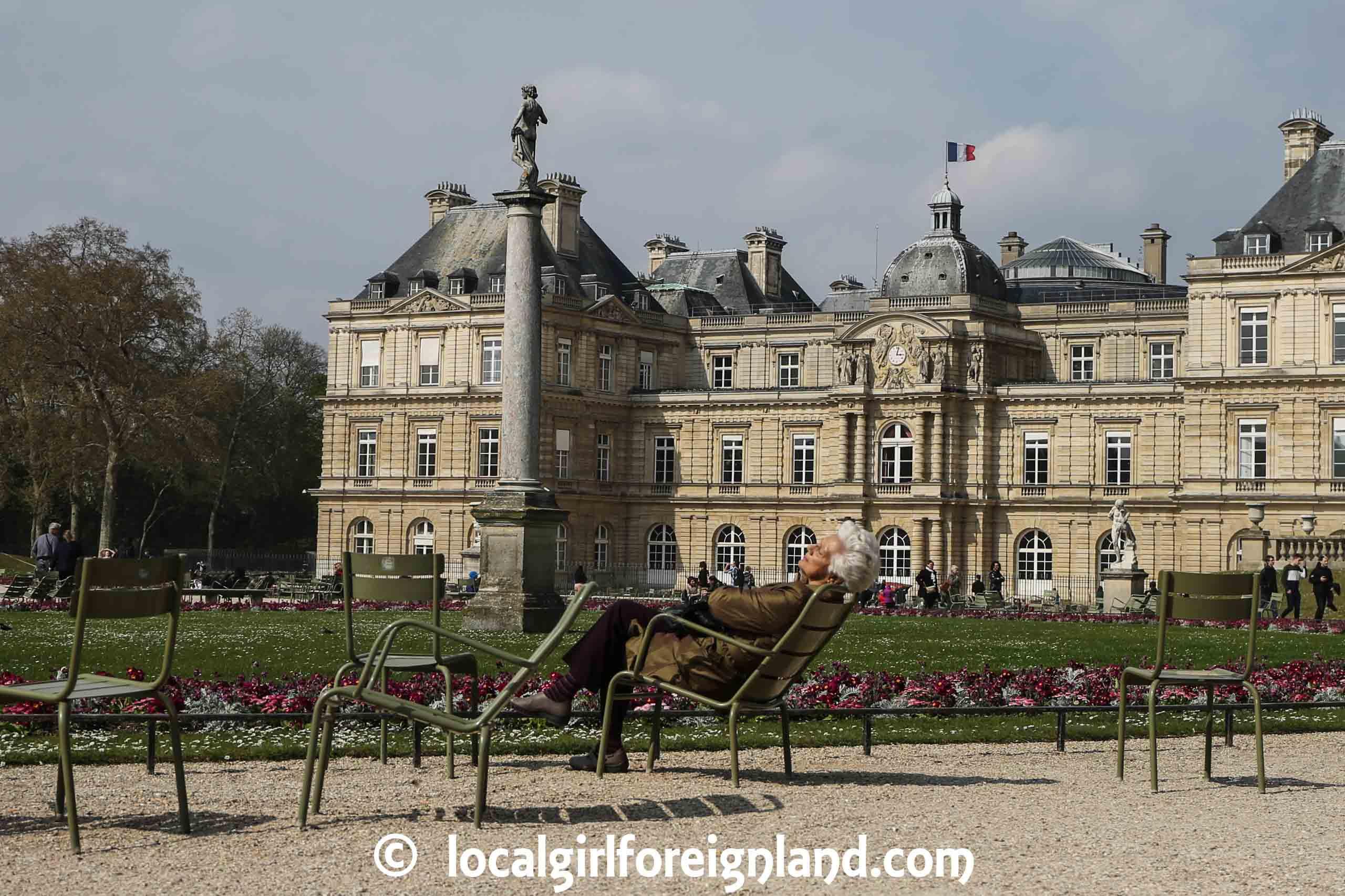 Luxembourg Garden, Parisian lifestyle