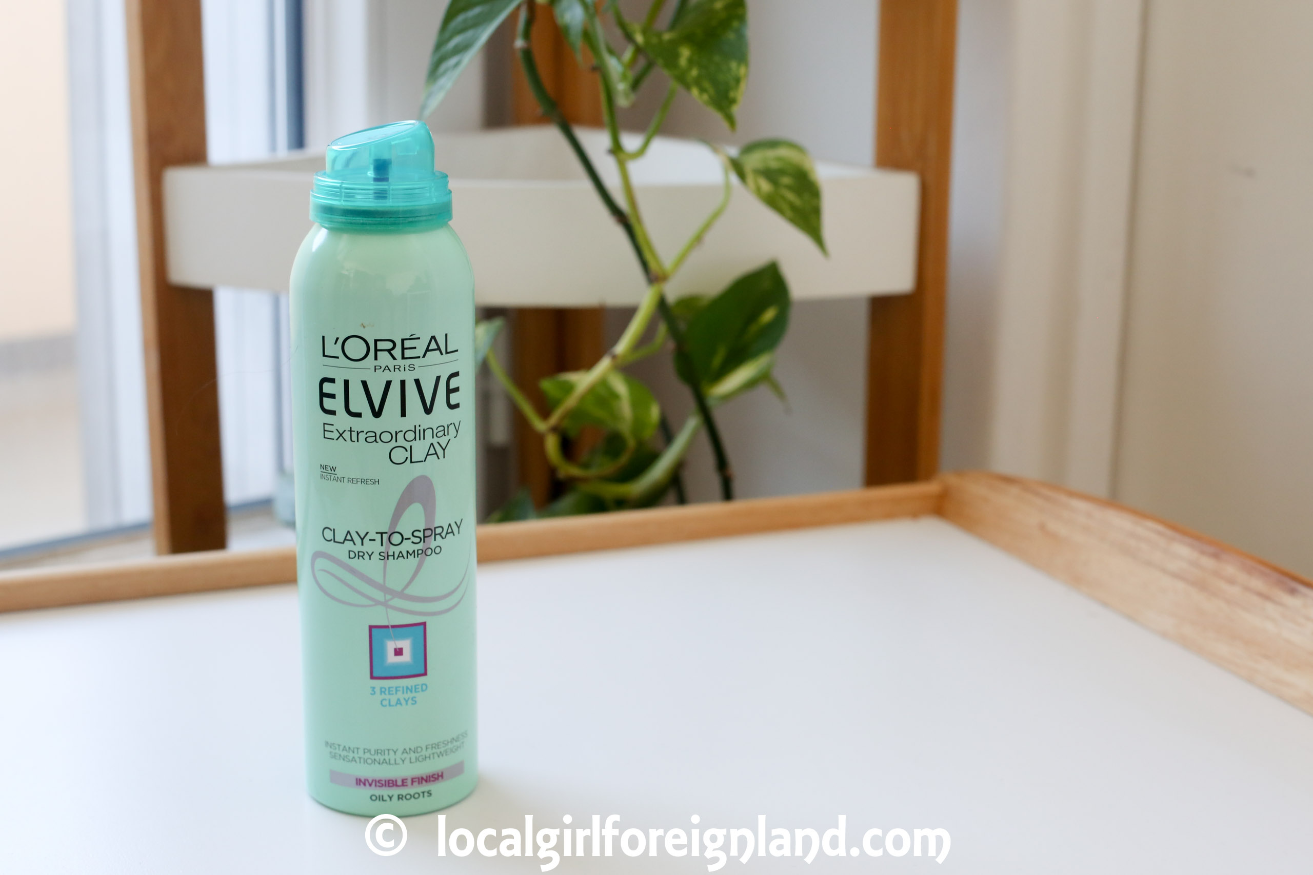 L'oreal- Elvive-Extraordinary-Clay-dry-shampoo-review