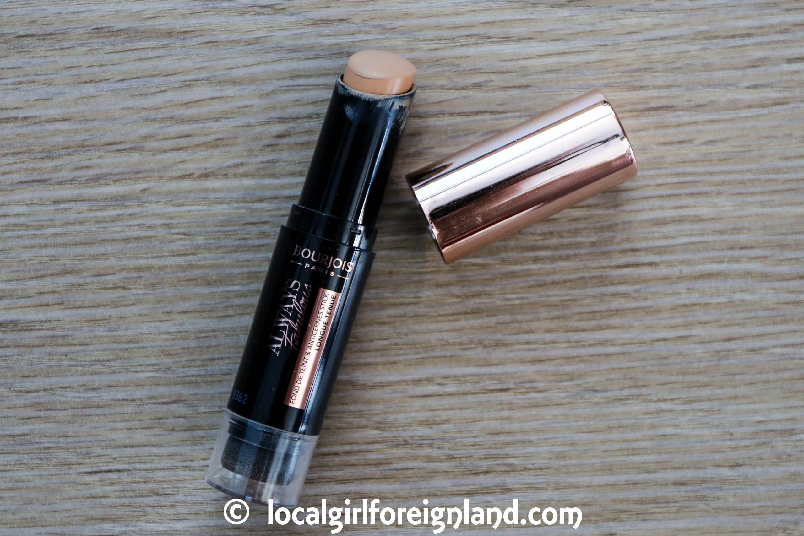 Bourjois Always Fabulous Foundcealer review