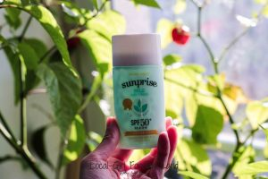 etude house sunprise mild airy finish sunscreen empties review