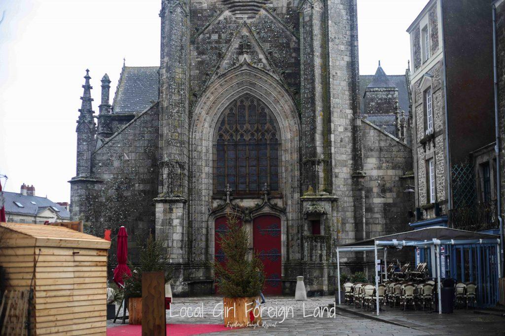 Saint Aubin church, Guerande's oldest building