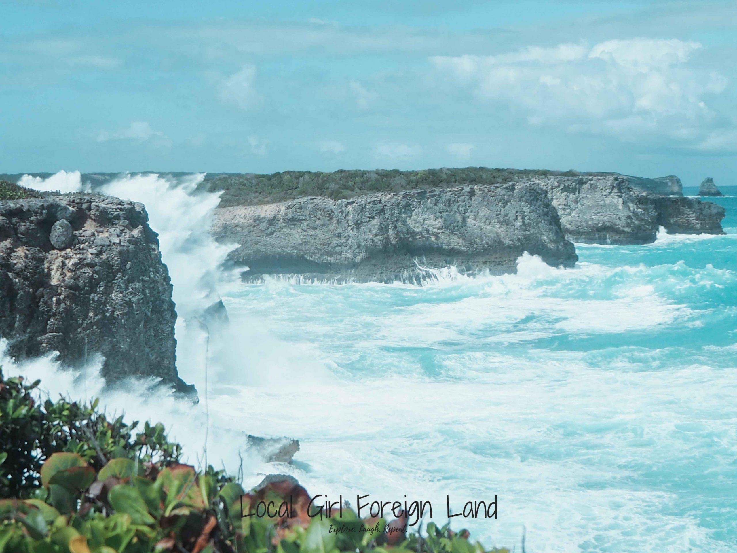 Trace des douanier, Guadeloupe